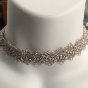 Jewelry - Two lace chokers